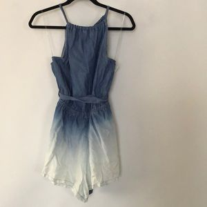 a434d8c968 do   be Dresses - DO+BE denim ruffle ombré blue S 💯 % Tencel